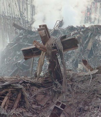 9 11 Cross copy 9/11 demons herald Muslim invasion