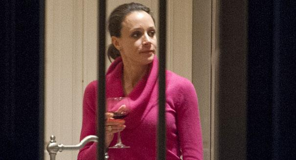 Broadwell Politico Wine FROM AP EXCLUSIVE VIDEO ESSAY: The Paula Broadwell Stakeout