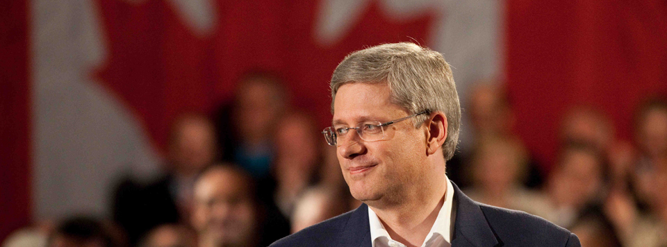 Stephen Harper has that look on his face | chronicle.su