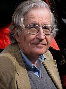 Well-Meaning Weapons Development Denialist Noam Chomsky
