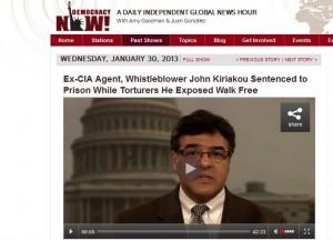 Ex CIA Agent Kiriakou 300x216 Journalistic Ethics Breach costs Torture Whistle blower John Kiriakou 30 months Freedom