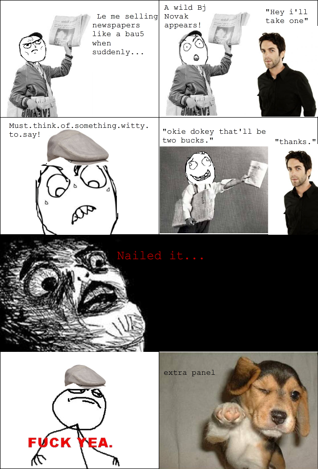 IMETSOEMOENFAMOUS Rage comics are killing Reddit
