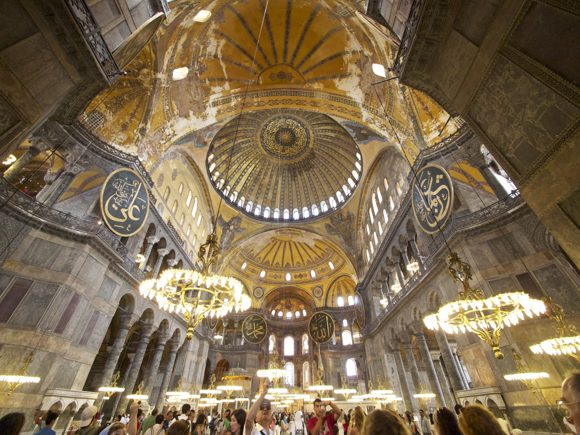 Interior of Hagia Sophia The Witch Craze