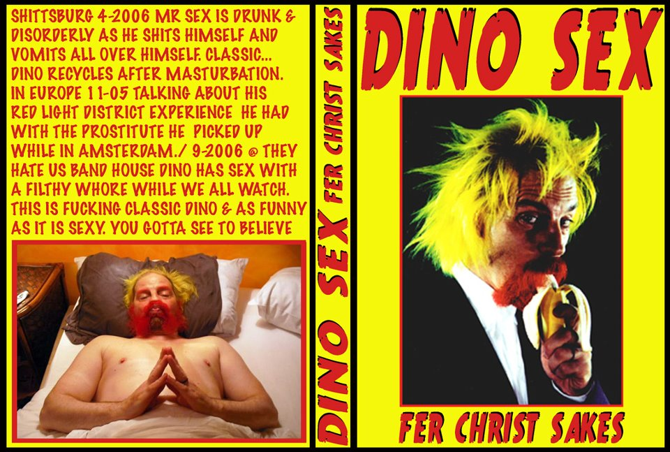 KR DINO SEX,  FIND OUT WHY HE IS THE HEART THROB, SEX SYMBOL & BITCH MAGNET OF THE MURDER JUNKIES.
