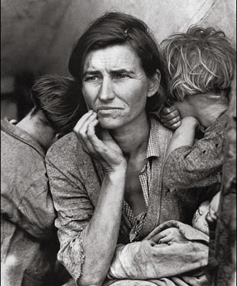 In the Shadows of Tim Foley: 'Migrant Mother' - Dorothea Lange