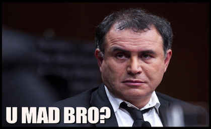 Nouriel UMADBRO edit Q&A with Nouriel Roubini