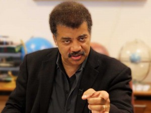 Was Neil Tyson possessed by Satan on the set of Cosmos?