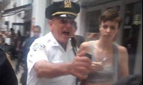 anthonybalogna NYPD Officer Signs Lucrative Pepper Spray Endorsement Contract