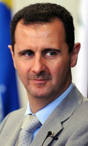Bashir al-Assad condemned America as the great terror of the last century and demanded they dismantle their nuclear program.