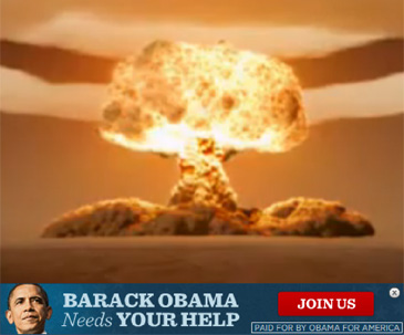 BARACK OBAMA NEEDS SUPPORT IF HE IS TO BOMB BROWN PEOPLE