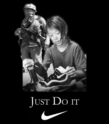 NIKE - JUST DO IT, SLAVE