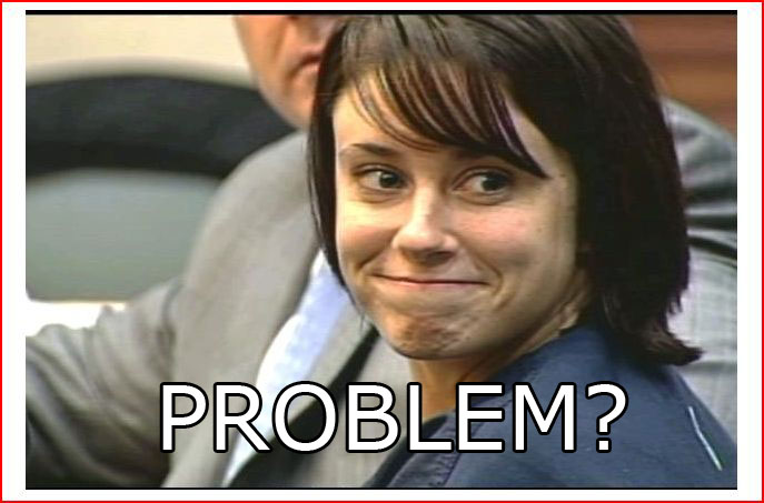 caseytroll Casey Anthony innocent of all charges
