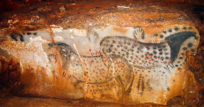 Reddit users were given first glimpse of the cave paintings, which were quickly downvoted off the front page before they could bore anyone else.