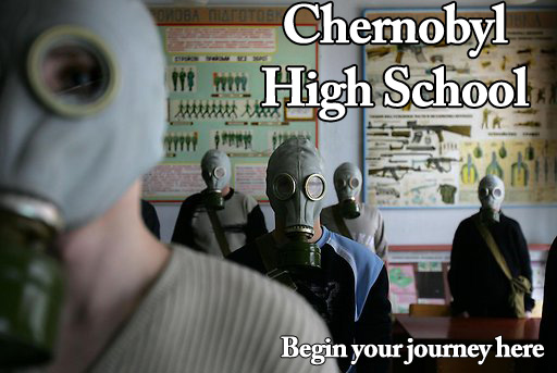 GET HIGH AT CHERNOBYL HIGH