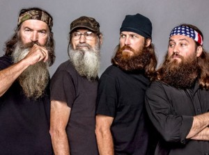 "Bearded Men are complaining about getting too many ""Duck Dynasty"" comments in public."