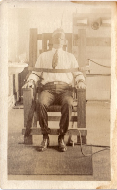 Prisons used electric chairs when pictures looked like this.