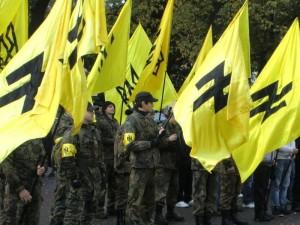 Fascist Ukrainian zealots storm Moscow