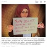 Muslim response to Femen