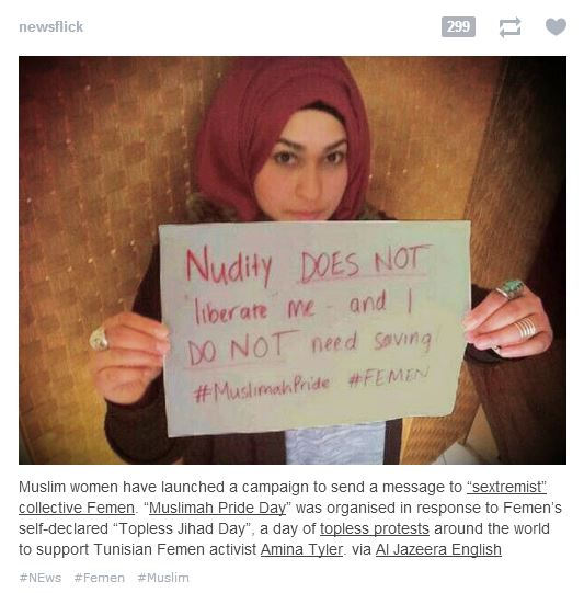 femen muslim Tumblr centric #Femen Movement Started By Men