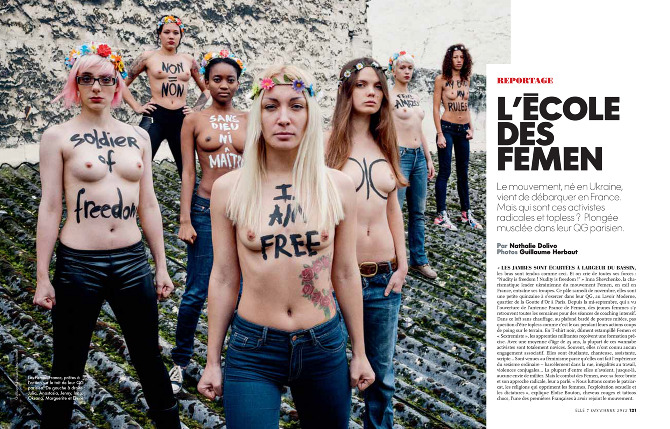 femen soldiers Tumblr centric #Femen Movement Started By Men