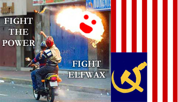 fight the power fight elfwax