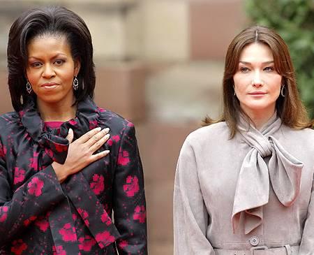 Michelle Obama demonstrates a secret communist socialist gang sign