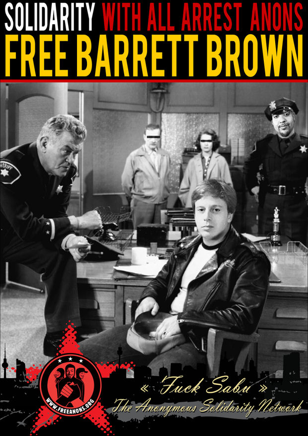fucksabu Barrett Brown, The Wild One