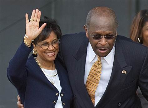 gloriacain Herman Cain plans secret divorce with infuriated wife