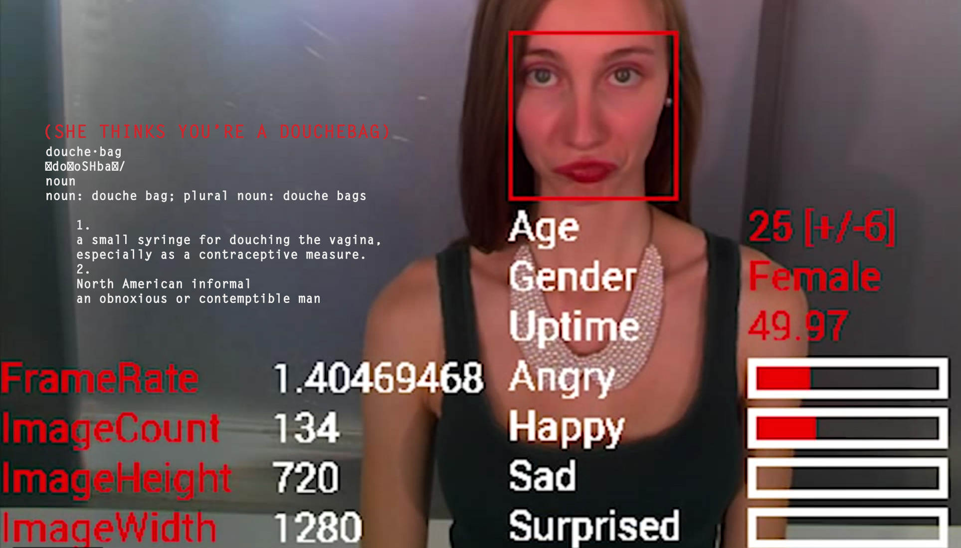 Google Glass accurately guesses facial expressions, and even offers clues as to what people might be thinking about you.