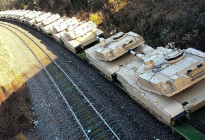 UN Tanks are shipped into Texas to quell inevitable patriot uprisings