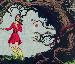 You're starving, alone, and scandalously dressed like a Communist superhero, but do you eat off the tree of hegemony and find yourself trapped by its tendril-branches?