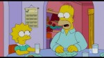 homer and lisa simpson
