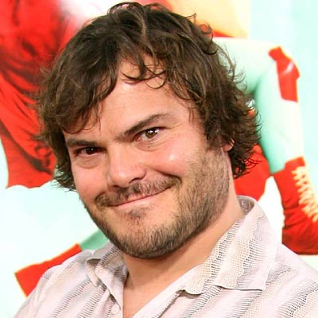 The 47-year old son of father Thomas William Black and mother Judith Love, 168 cm tall Jack Black in 2017 photo