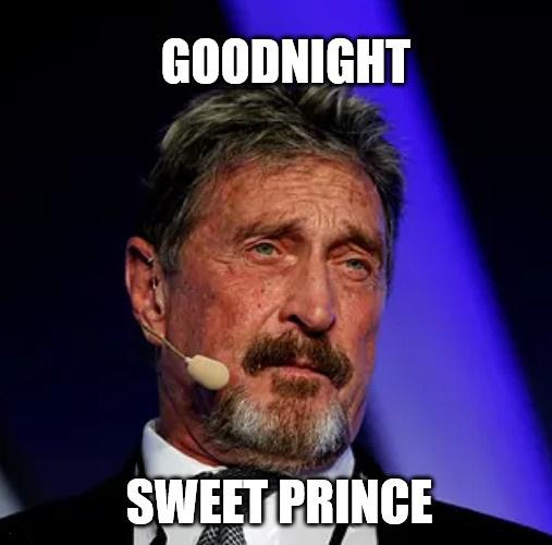 Goodnight Sweet Prince: 1945 - 2021