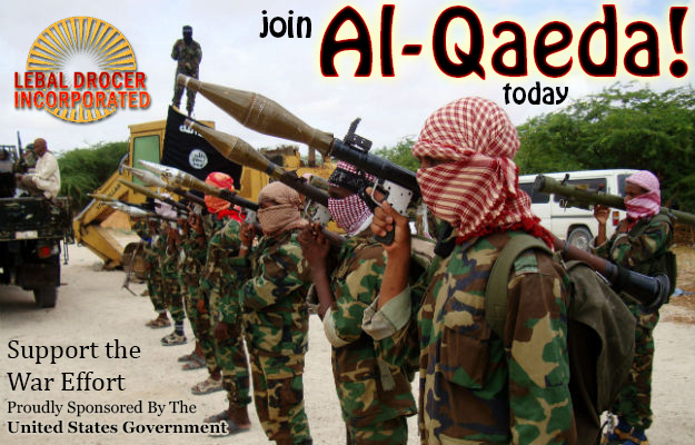 USA TO JOIN AL QAEDA