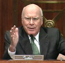 Leahy, Sinister of the Protect IP Act