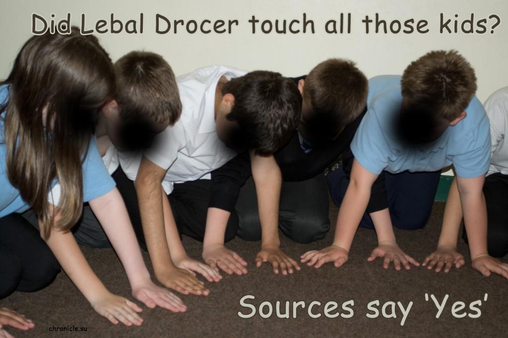 Lebal Drocer Inc Touched All Dem Children