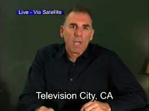 Michael Richards, from Television City, California. All televisions in the United States come from Television City.