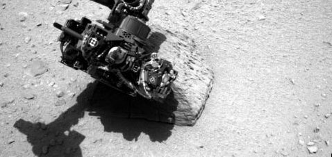 microscope Curiosity Rover finds Fossil evidence of life on Mars