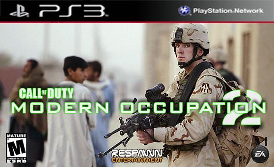 MODERN OCCUPATION 2 FOR PLAYSTATION 3