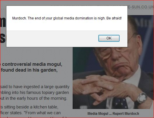 """The Topiary Takeover left Rupert Murdoch's """"The Sun"""" in shambles."""