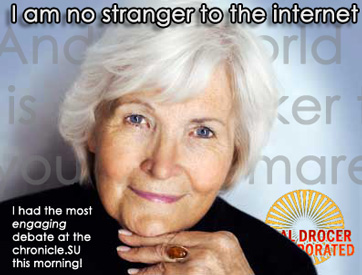 I am no stranger to the Internet