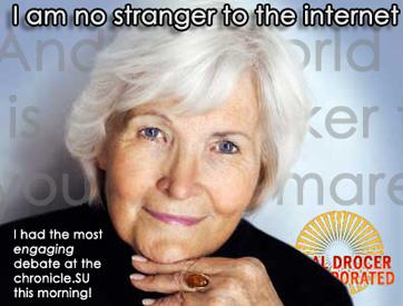 I am no stranger to the Internet
