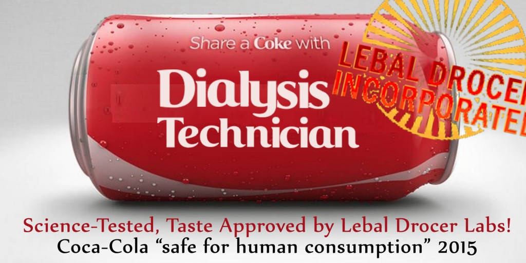 Lebal Drocering Ambulatory Services offering 50% discount on new dialysis sign-ups. Use promo code 'coke' at checkout.
