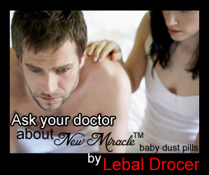 New Miracle baby dust pills by Lebal Drocer Inc