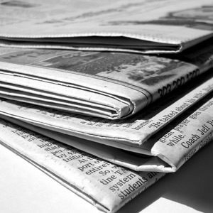 newspapers News no longer newsworthy