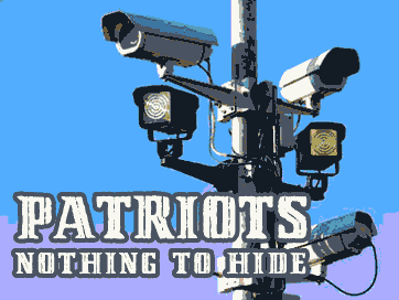 REAL PATRIOTS HIDE NOTHING.