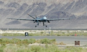 Nuclear powered reaper drone