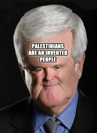 palestine Newt Gingrich fucked an Alien