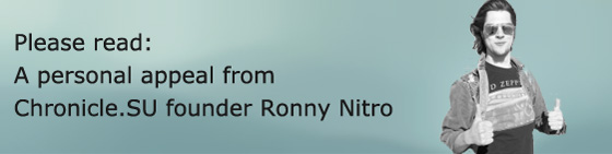 """A personal appeal from Chronicle.SU founder Ronny """"Wayne"""" Nitro"""